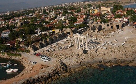 фото портовой бани в Сиде