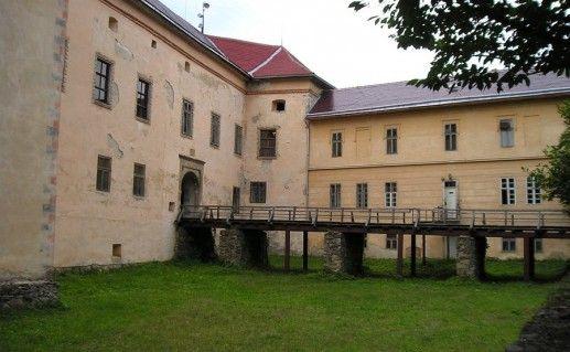 внутренний двор Ужгородского замка фото