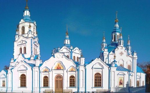 Знаменский кафедральный собор в Тюмени фото