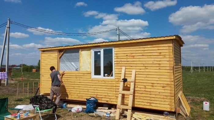 Купить бытовку в Москве для строительства дачи